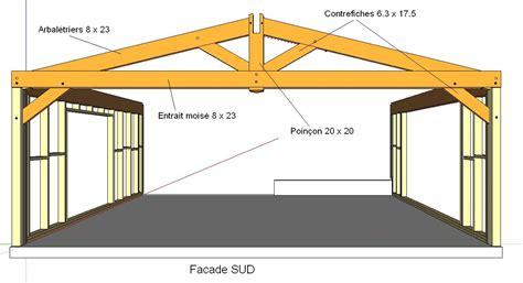 4 Car Garage Dimensions by Avis Sur La Section Des Bois De Charpente 20 Messages