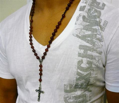 mens rosary s rosary pictures to pin on pinsdaddy