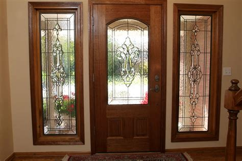 Leaded Glass Exterior Doors Exterior Doors With Stained Glass Images