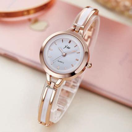 Jam Tangan Wanita 100 jam tangan wanita stainless steel gold jakartanotebook