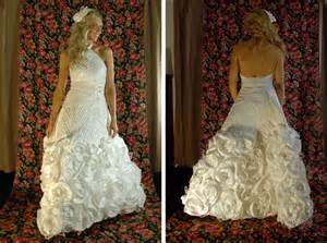 paper wedding dress toilet paper wedding dress