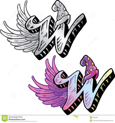 xs tattoo prices tattoo style letter w stock vector image of design