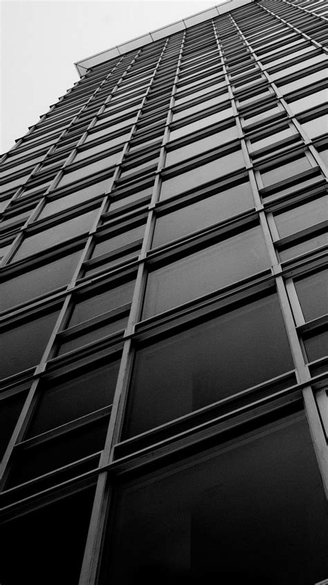wallpaper black and white buildings office building windows black white iphone 6 wallpaper hd