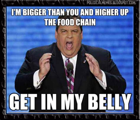 Fat Bastard Meme - political memes chris christie the real life fat bastard