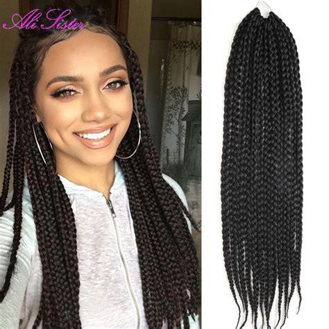 Soften Cuban Twist Hair | long 24 quot soft box braids hair crochet hair extensions box