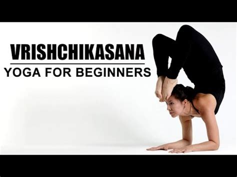 yoga tutorial for beginners youtube vrishchikasana yoga for beginners youtube