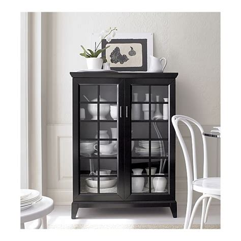 crate and barrel china cabinet 17 best ideas about black china cabinets on