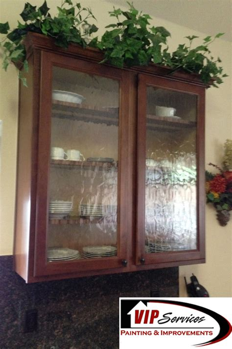 Custom Glass For Cabinets by Custom Glass Cabinets Vip Services Painting Improvements