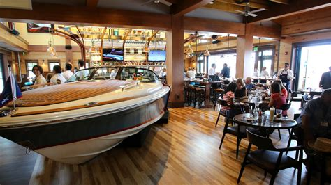 boat house restaurant just a car guy the boat house restaurant at disney springs orlando