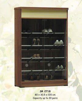 Rak Sepatu Panel compass furniture and interior design home ruang tamu rak lemari sepatu
