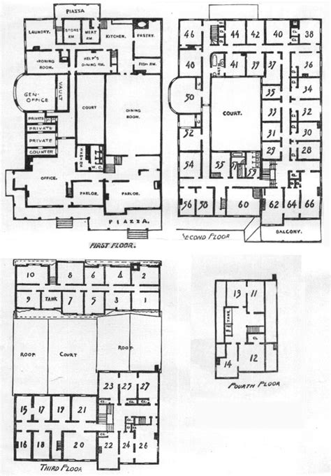 floor plan of a mansion the mansion house at poland spring
