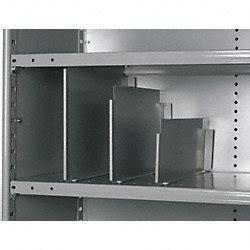 Industrial Shelf Dividers by Hallowell Vertical Shelf Divider 20 Ga Gray Pk12