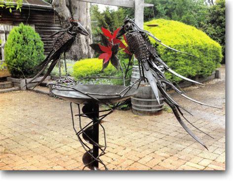 recycled metal sculptures garden recycled junk waste metal sculptures scrap