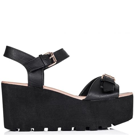platform shoes for buy golden heeled flatform platform sandal shoes black