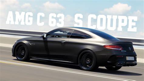 c63 amg matt schwarz matte black carbon 2016 mercedes amg c63 s coupe forza