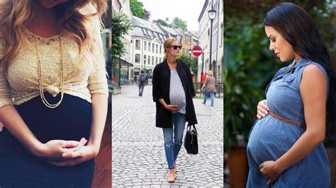 imagenes de vaqueras embarazadas hermosos outfits de moda para embarazadas 2015 youtube
