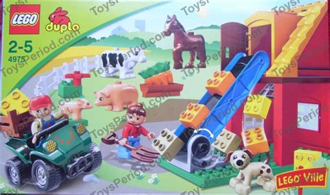 lego 4975 farm set parts inventory and lego