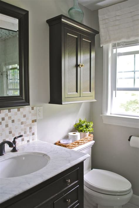 bathroom hutch over toilet 25 best ideas about over the toilet cabinet on pinterest