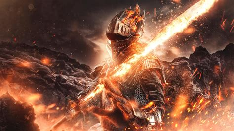 dark souls fire  sword hd games wallpapers hd