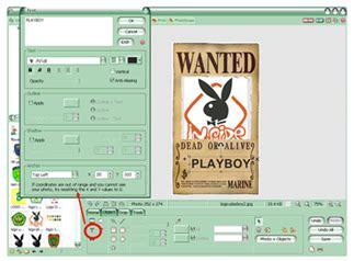 cara membuat poster wanted one piece management information system cara membuat gambar buronan
