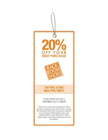 rack room shoes coupons rack room shoes printable 20 coupon on any
