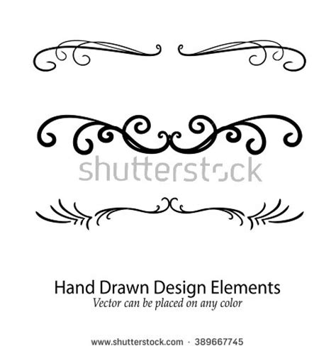 tattoo font underline fancy stock photos royalty free images vectors