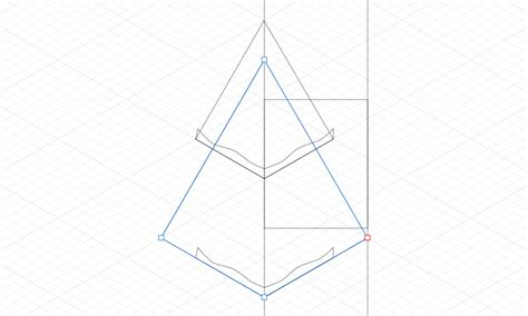 second section how to make an isometric christmas tree svg in affinity
