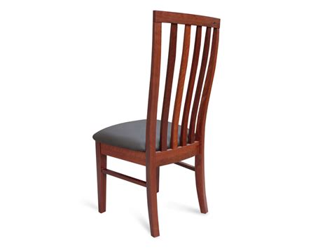 jarrah timber dining chair no 2 living elements