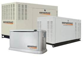 standby power generators generac generators power up with