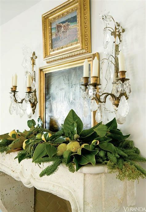 christmas mantles    decorating inspiration