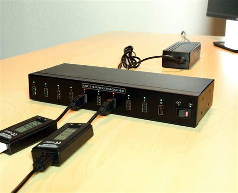 10 usb charger usb charging hub 10 port hi power 2 4a usb charger hub