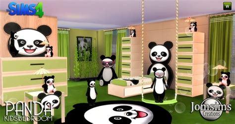 panda bedroom panda kids bedroom at jomsims creations 187 sims 4 updates