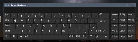 view keyboard layout windows 8 how to use windows 10 on screen keyboard step by step