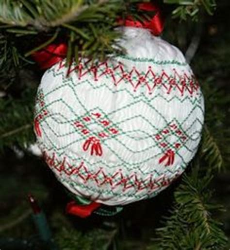 1000 images about smocked christmas ornament on pinterest
