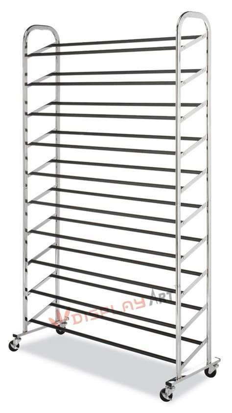 Large Shoe Rack by Large Capacity Shoe Rack For Display View Shoe Racks For