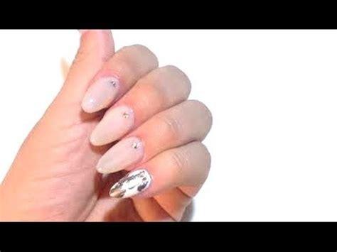 youtube tutorial uñas de gel tutorial u 241 as naturales ovaladas youtube
