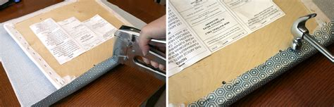 how to make a bench cushion with staple gun dining room chair covers sew or staple craft buds