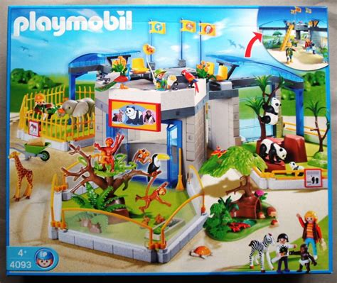 le solaire jardin 3634 zoo playmobil