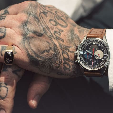 self made tattoos zenith watches x luke wessman it s about time luke