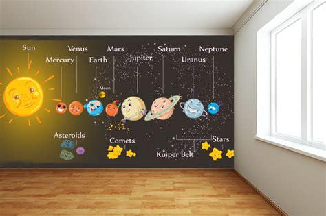space wall mural uk new children s wallpapers wallpaper ink