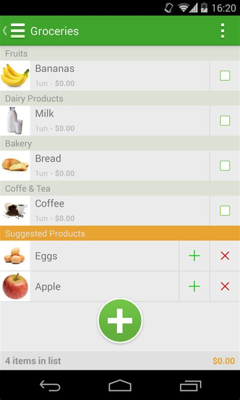 Pantry List App by Grocery List Tomatoes 1mobile