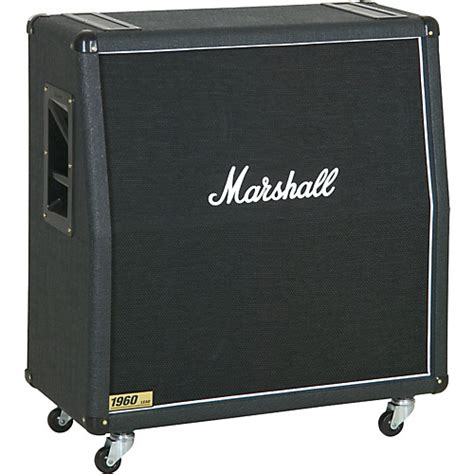 Marshall Cabinet 1960 marshall 1960 300w 4x12 guitar extension cabinet 1960a angled guitar center