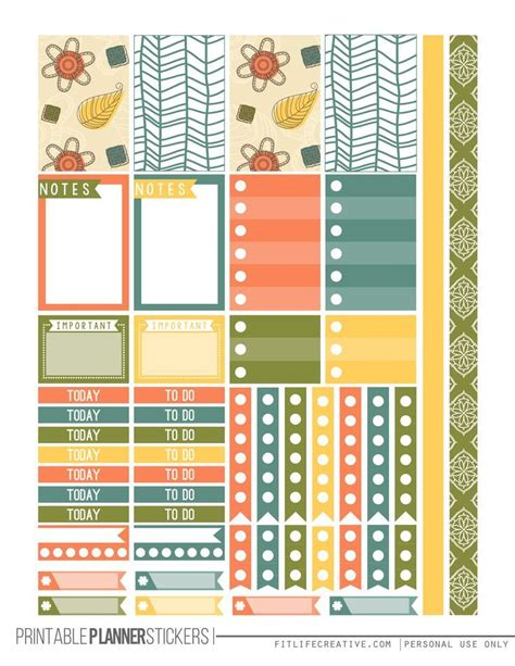 free printable planner pages classic size 51 best happy planner images on pinterest stationery