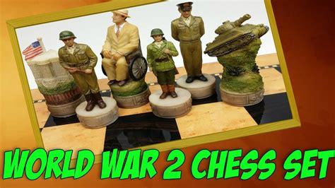 Unusual Chess Sets by Revolutionary World War 2 Chess Set Ww2 Toys Ww2 Games