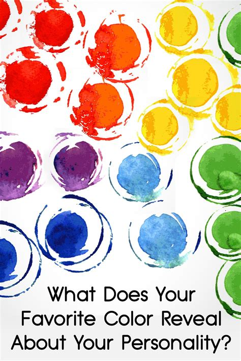 what does your favorite color say about you what does your favorite color 28 images what does your