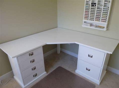 Here Is The Corner Desk My Dh Built For Me For Christmas Corner Vanity Desk