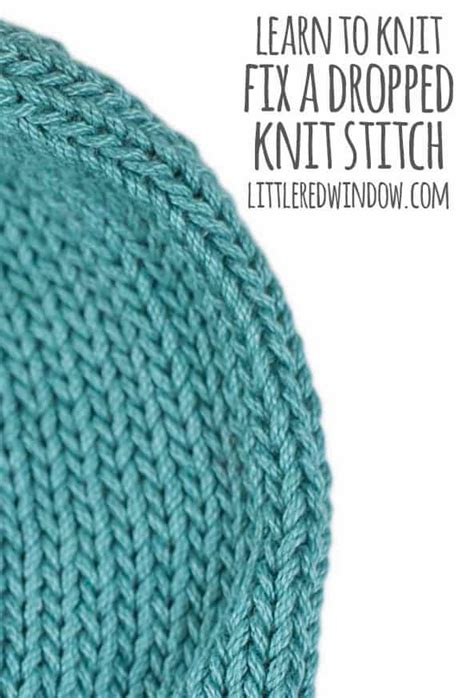 fix a in knitting learn to knit fix a dropped knit stitch window