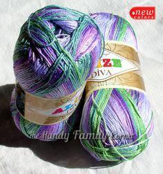 Alize Silk Effect No 647 batik cotton baby yarn batik 100 cotton by alize