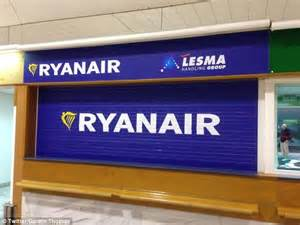 Ryanair Information Desk by Ryanair Flight From Lanzarote To Delayed By 51 Hours Daily Mail