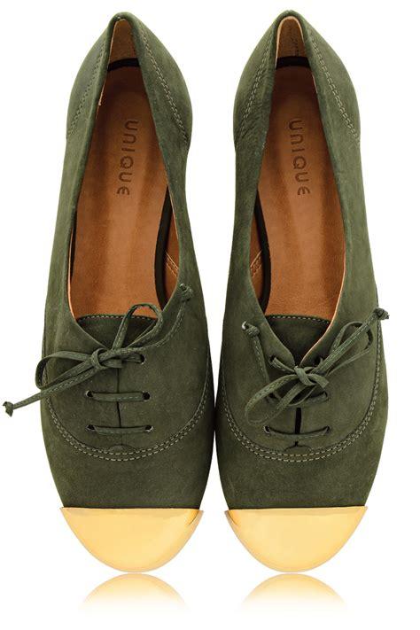 unique flats shoes miss unique ester olive lace up flats shoes flats